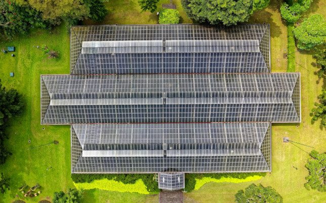 bird-s-eye-view-of-solar-panel-roof